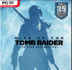 Rise Of The Tomb Raider 20 year celebration at CDKeys for £9.79