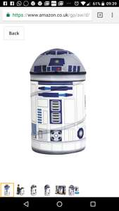 Star Wars - R2D2 Pop up storage bin £4.96 on Amazon (add-on item)