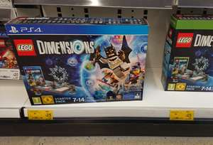 Lego Dimensions Starter Pack - £25 in store at Asda - Ps4 / Xbox One