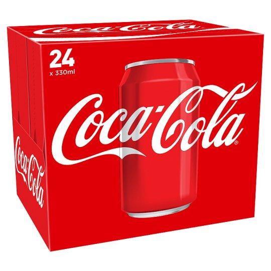 Coke 24x330ml for £6 at Tesco