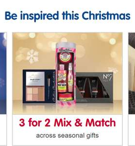 BOOTS - 3 FOR 2 CHRISTMAS MIX & MATCH