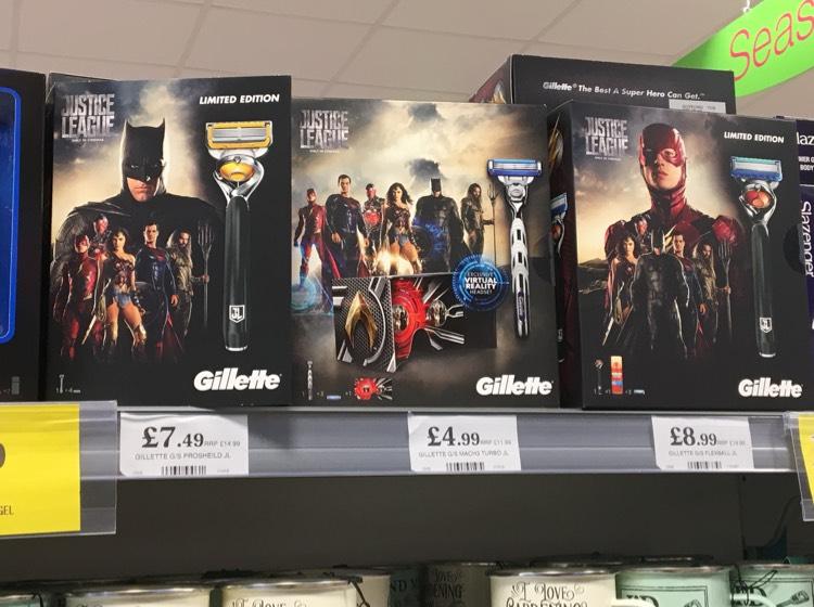 Gillette Fusion Flexball Razor Set (Razor and 4 blades) - £7.49 @ Home Bargains