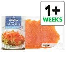 Tesco Smoked Salmon Slices 300g £3.25
