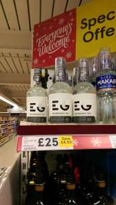 Edinburgh Gin 70cl £25 in Tesco instore