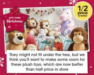 WILKO - 1/2 PRICE OR BETTER ON TOYS &