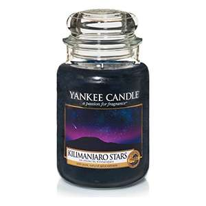 Yankee Kilimanjaro Stars candle Large £9.99 prime / £14.74 non prime Sold by My Swift and Fulfilled by Amazon
