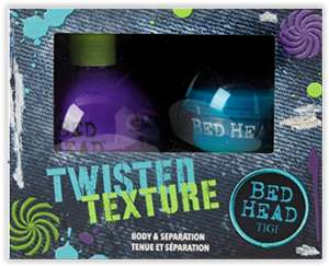 Various TIGI bed head gift sets with big savings - Amazon Christmas deals - Pictured twisted texture set 14.06 delivered with prime