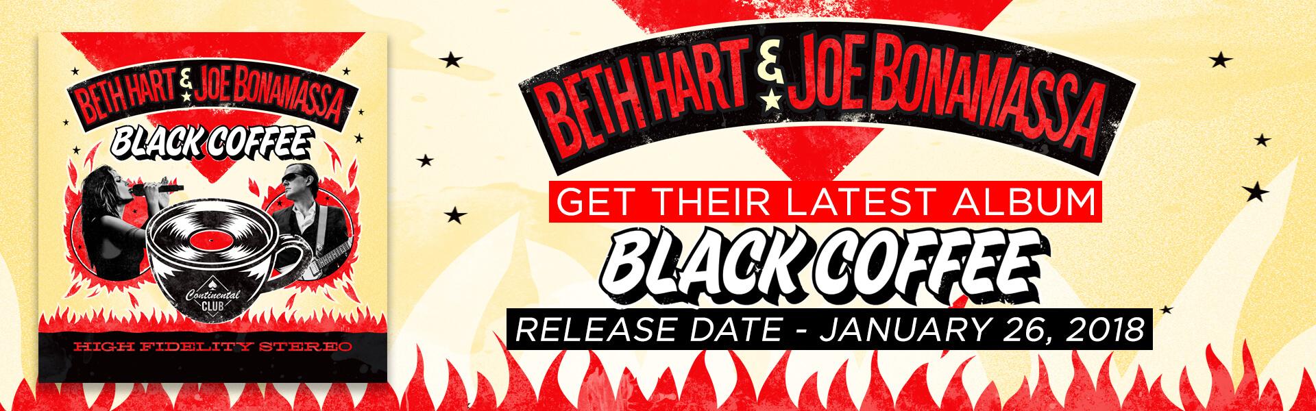 "Free Download Joe Bonamassa & Beth Hart ""Black Coffee"""