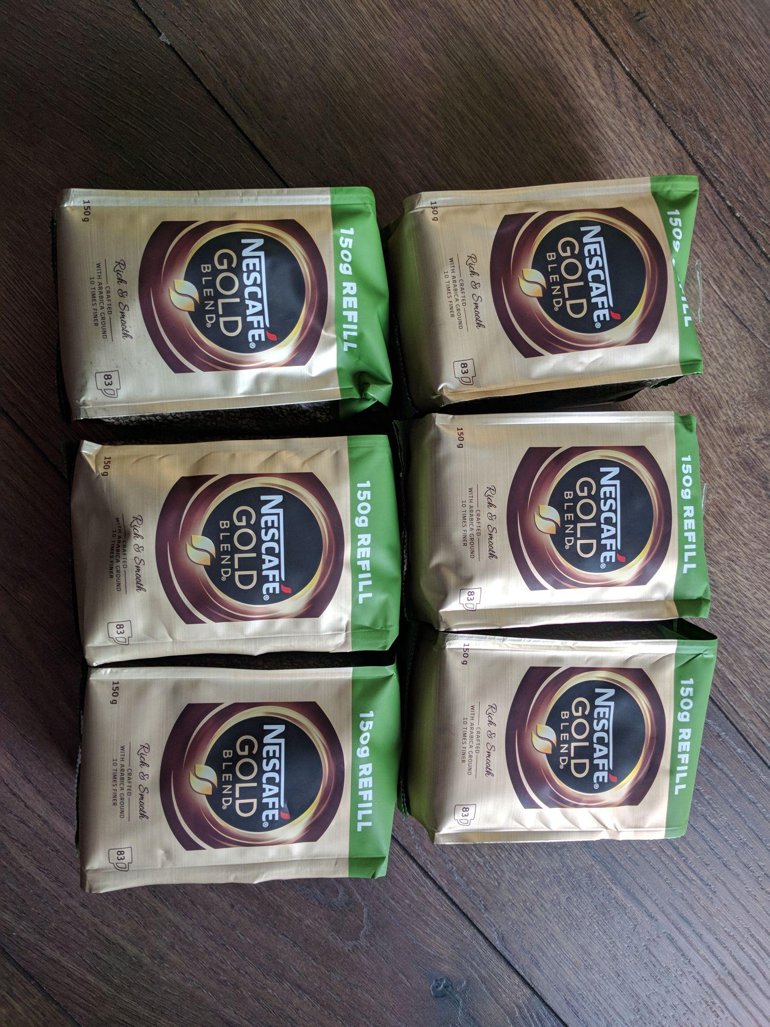Nescafe Gold Blend 150g £3 @ Tesco instore