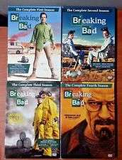 Breaking Bad complete seasons 1-4 , 15 DVDs £5 @ POUNDLAND