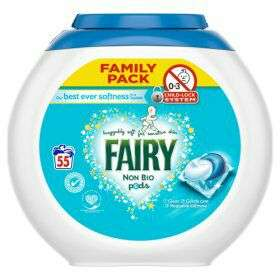 Fairy non bio 55 liqui tabs just £9 @ASDA
