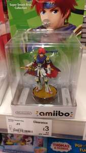 Super Smash Bros Roy Amiibo £3 @ Asda