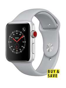 Apple Watch 42mm S3 Silver aluminium/ceramic back/16GB GPS+Cellular £359.10@ Very With 12m BNPL code