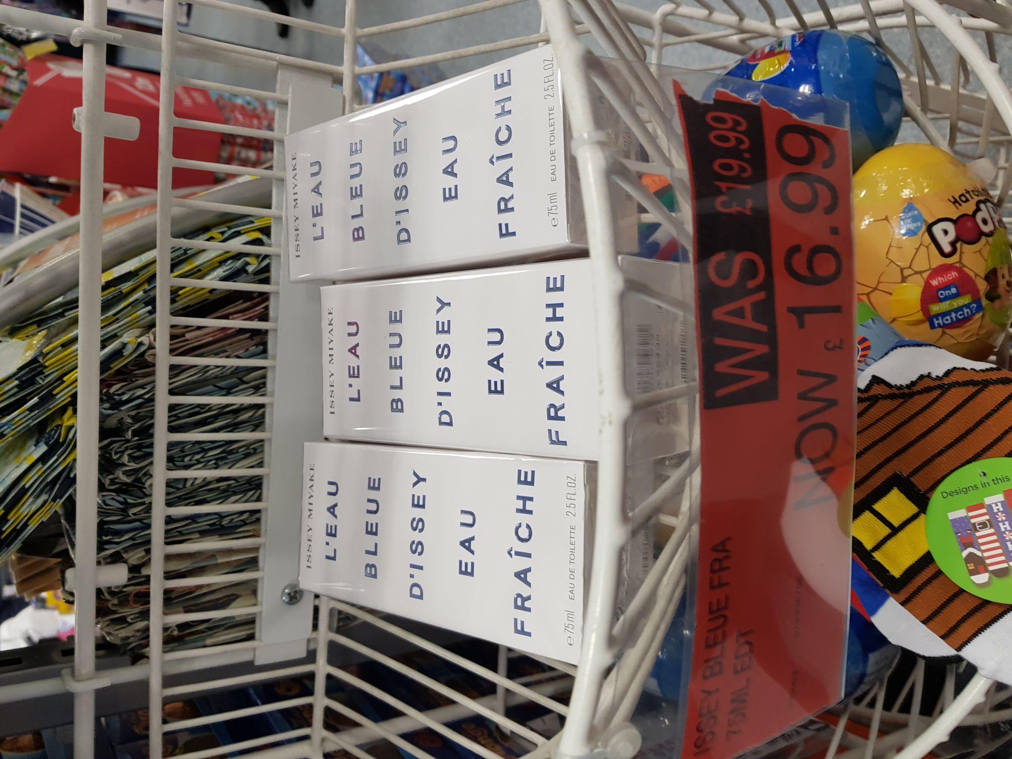 Issey MiyakeBleue Eau Fraiche 16.99£ ! It is a bargain - B&M