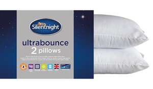 Silent night pillows 2 pack £3.50 click and collect @asda