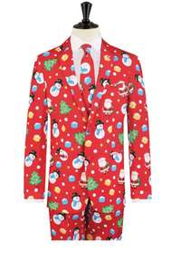 Santa and frosty Christmas suit £19.99 from dobell.