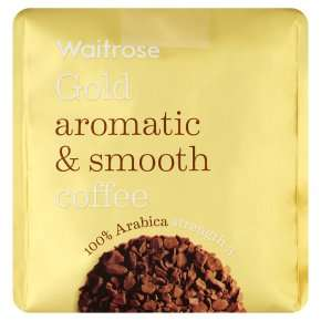 WAITROSE Gold 200g Refill Coffee Granules (100% Arabica Coffee) £3.11 (20% off RRP) or £2.48 (PYO)