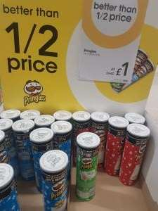 Pringles £1 in Wilkos includes google play movie code