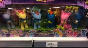 My little pony wonderbolts and power ponies £19.99 @ Home Bargains