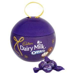 Cadbury's Dairy Milk Oreo Gift Bauble £1 in B&M