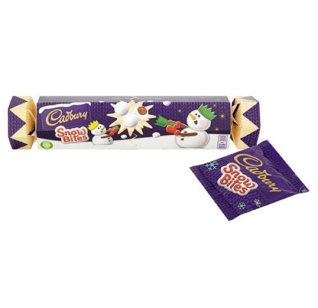 Cadbury's Snowbites Christmas Cracker Gift £1 in B&M