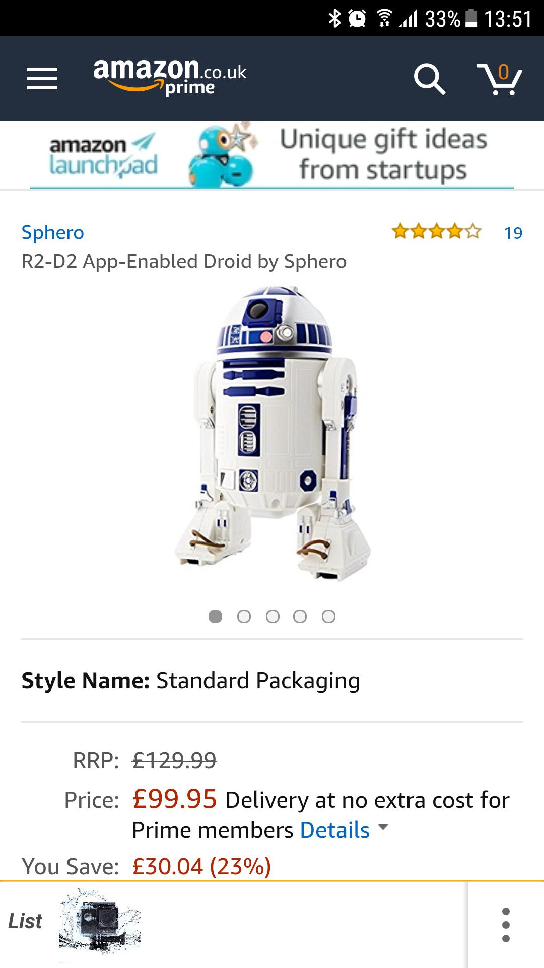 R2-D2 Smart app £29.99 @ Home Bargains