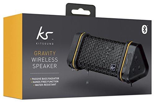 KitSound Gravity Universal Splashproof Wireless Bluetooth Rechargeable Portable Speaker £9.99 Prime / £13.98 Non Prime @ Amazon