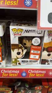 Pop vinyl figures reduced to £3.00 INSTORE @poundstretcher