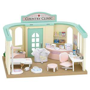 Sylvanian Families Country Doctor Set £23.99 @ John Lewis (C&C free if over £30 spend)
