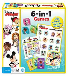 Disney Junior 6-in-1 Games - £9.99 - Sold by Smart Games Online and Fulfilled by Amazon [Non Prime Delivery: £1.99]
