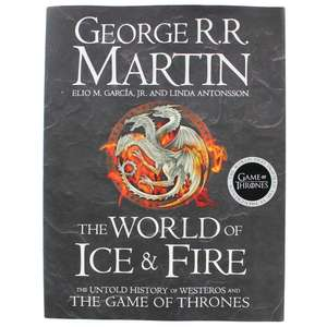 The World of Ice and Fire: The Untold History of Westeros and the Game of Thrones (Song of Ice & Fire) £12 @ Amazon