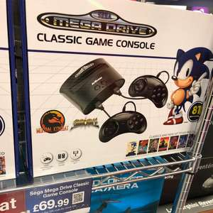 Sega mega drive with 81 built in games £69.99 @ Menkind - white rose centre Leeds