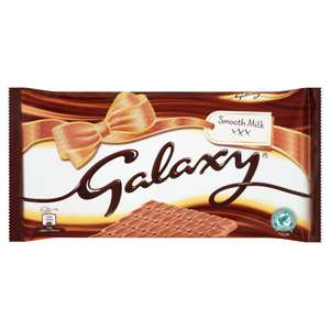 2 x Galaxy Chocolate 390g bars for £4 @ Iceland