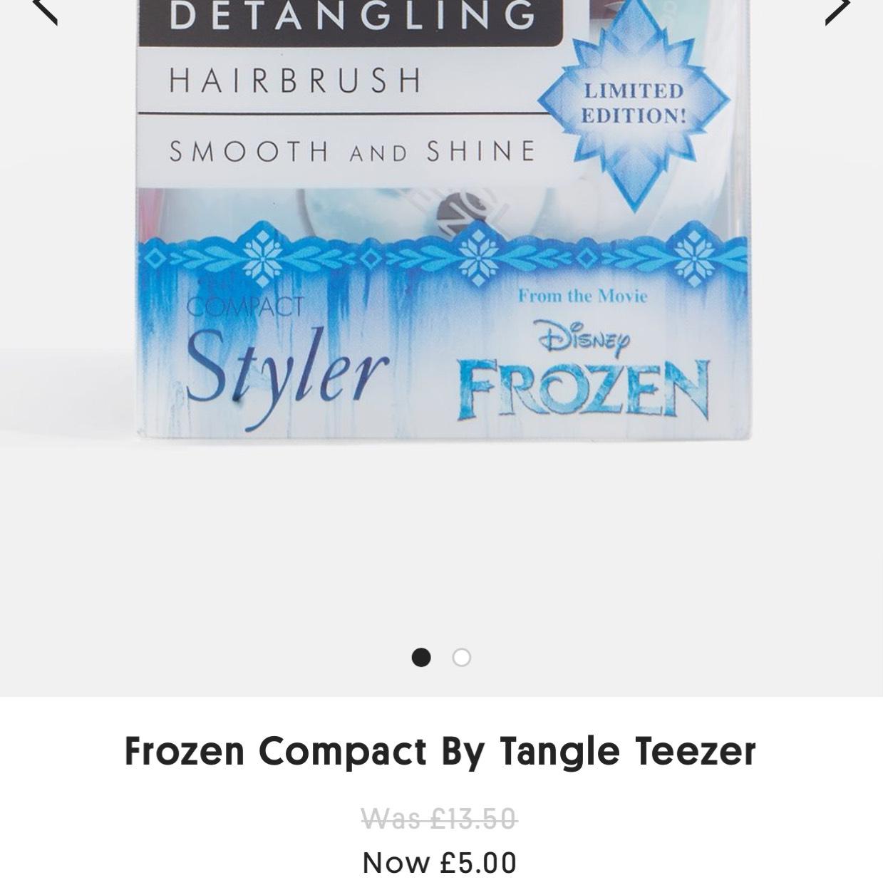 Topshop tangle teezers £5 @ Topshop