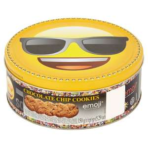 Jacobsens Chocolate Chip Cookie Emoji Tin 150g £1 @ Morrisons online and instore