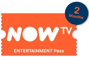 NOW TV 2 Month Entertainment Pass - £2.94 - eBay/GameTradeOnline