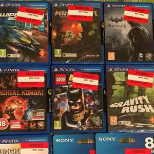 Vita games all £5 @ Asda instore