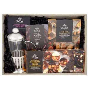 New - Morrisons The Best Coffee & Cafetiere Hamper reduced to £10 in store
