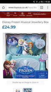 Musical FROZEN jewellery box, £3.99 @ Home Bargains