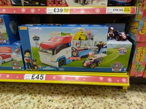 Paw Patrol - Paw Patroller Reduced to £45 @Tesco (In-store Deal)