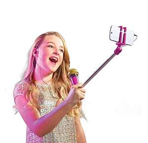 SelfieMic Selfie Stick Microphone £9.99 Prime Exclusive @ Amazon