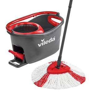 Vileda Easy Wring and Clean Turbo Microfibre Mop and Bucket Set by Vileda @ Amazon with free delivery for £19.99 (Prime/add-on item to take over £20)