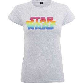 Ladies Star Wars Logo Grey Tee Size XL @ Game £2.99 + Free Delivery