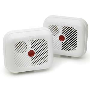 2 branded smoke alarms for £6.25 inc batteries instore or online. @ Wilko