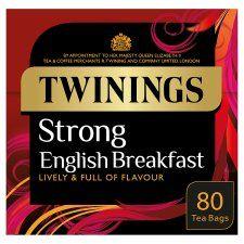 Twinings strong English breakfast tea £2.49 @ Tesco