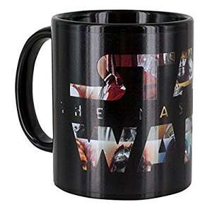 Star Wars: The Last Jedi Heat Change Mug (£4.99 prime / £8.98 non prime)