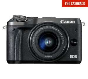 Canon EOS M6 Compact System Camera with 15-45 mm Lens  - £499.99 @ Argos (£449.99 after cash back)