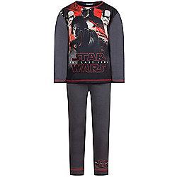 Star Wars The Last Jedi Boys Pyjamas Red - 4-5, 5-6, 7-8 years £8.99 @ Tesco