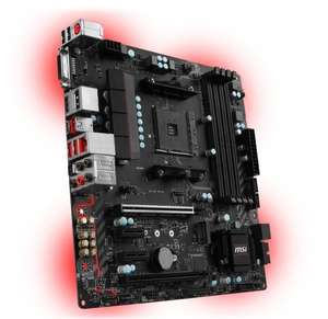 MSI AMD B350M MORTAR AM4 mATX Motherboard £76.98 @ Ebuyer