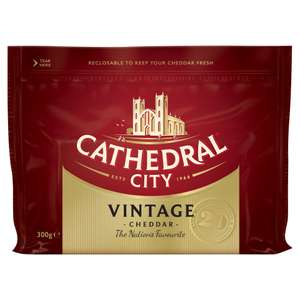 Cathedral City Vintage Cheese 300g £1.75 @ Iceland